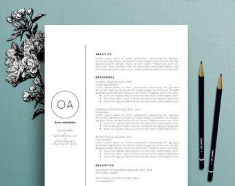 Moderne CV professioneel CV sjabloon MS Word door TheCreativeResume