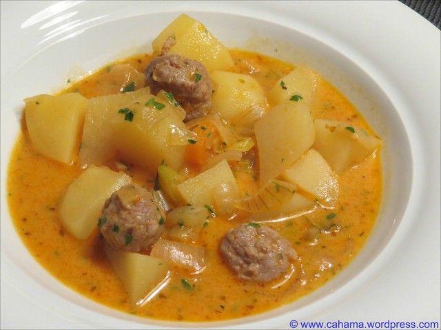 Kartoffelgulasch italienisch angehaucht