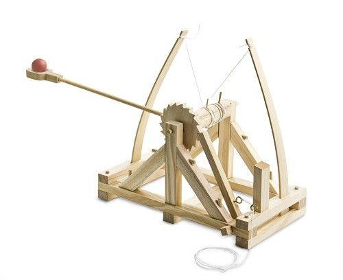 Mini Catapult Kit Woodworking Projects Plans