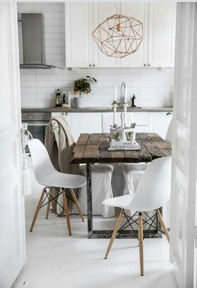 Love the mix of rustic with modern