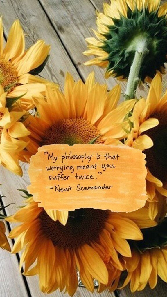 My Worry Is Not Of Ease My Belief Is Worry For The Little Things That We Consume In Our Every Day Rush To Cr Sunflower Quotes Flower Quotes Sunflower Pictures