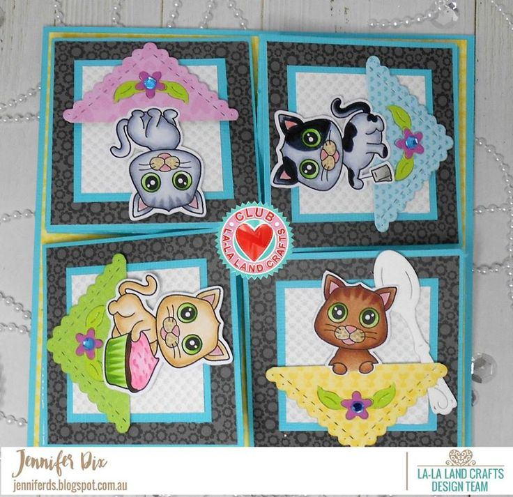 From our Design Team! Card by Jennifer featuring CLUB La-La Land Crafts SEPTEMBER 2017 Kit.