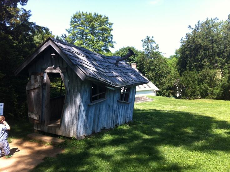 Tyler Arboretum Crooked House