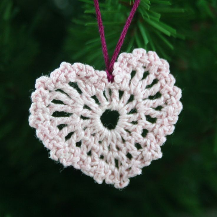 Miniature Heart Ornament step by step, thanks so as gorgeous xox