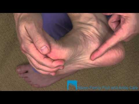 Simple Stretching for Plantar Fasciitis - YouTube