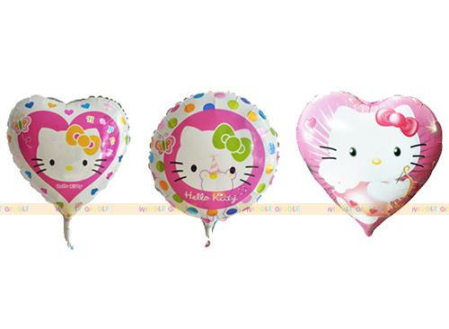 Hello Kitty Foil Balloons. Visit us at www.wigglegiggle.com