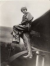 thank you Amelia Earhart, for acomplishing so much for all the women