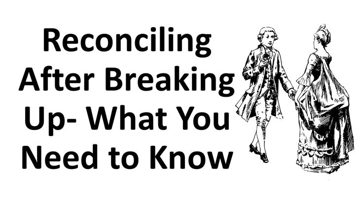 Reconciling After Breaking Up- What You Need to Know --- If your relationship recently ended, you probably are nursing a broken heart and thinking about reconciling after breaking up.  It is not impossible to win back an ex and there are many couples who discovered love is lovelier the second time around but getting an ex back is not something that could happen overnight. If you think that your broken relationship deserves a second chance, the following tips can be very helpful…