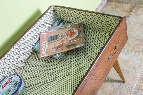 Il cassetto-tavolino  Il mio angolo di stile  #ilmomentodifare