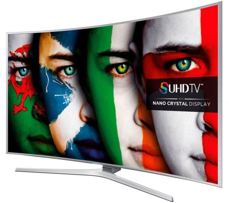 55 Samsung UE55JS8500 Curved 4k Ultra HD Freeview HD Freesat HD Smart 3D LED TV