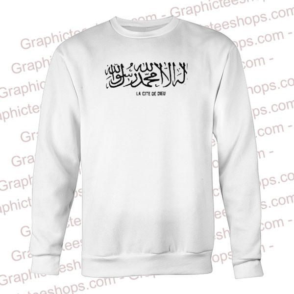 arabic calligraphy sweatshirt