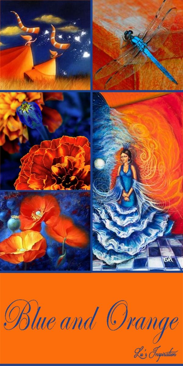 "Hi Ladies.Tonight's color board is "" BLUE AND ORANGE "" After tonight I will be away for a week.. Please look for Lynn's lead pin as the board color will not be changed in the description. Thank you so much for all the great pins and have a good week. ❤"