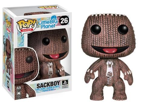 Funko Pop! Games: Little Big Planet - Sackboy I neeeed this!!! I used to love this game