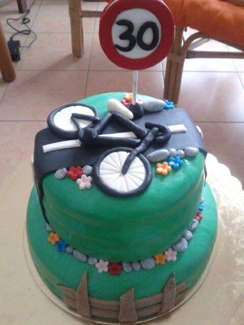 Torta bicicletta