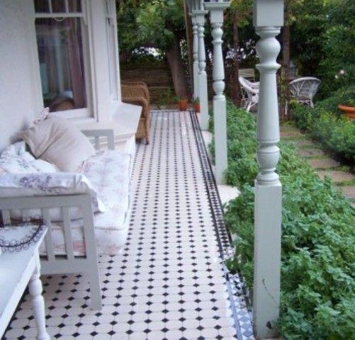 Ooooh for verandah Victorian Tiles | Products | Quadrata Tiles