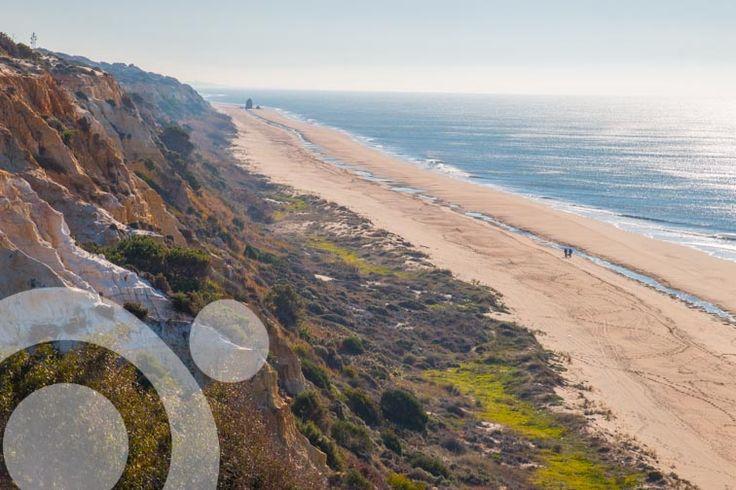 Arenosillo beach in #Mazagon. More information to plan your trip to #Doñana in www.qnatur.com