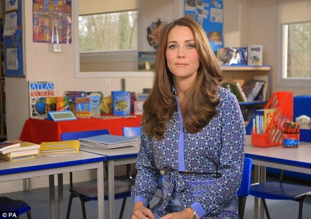 Queens & Princesses - On the occasion of the celebration of the first week of the mental health of children, Duchess Catherine has recorded a video message in her capacity as patron of the association Place 2 Be.