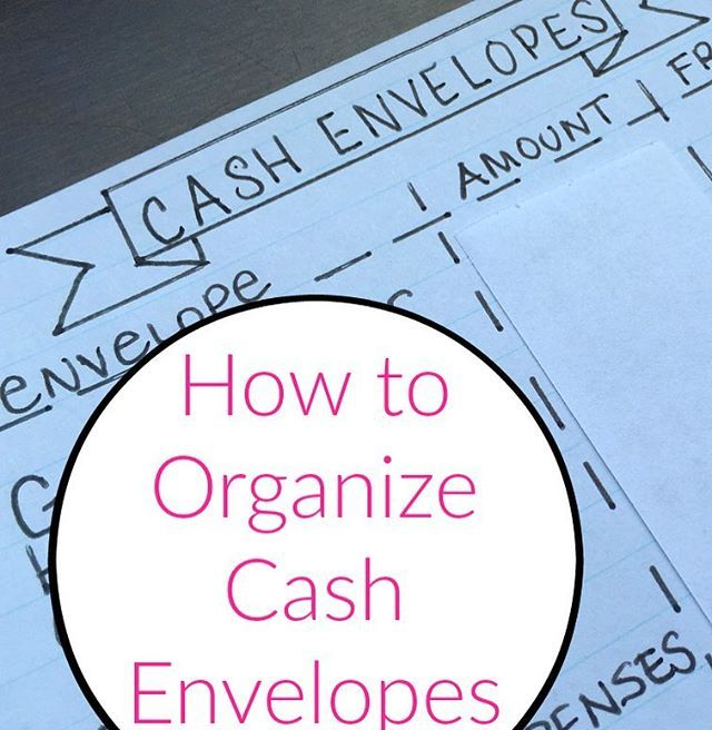 For those of you who had questions about how I organize my cash envelopes and decide how much goes in each, there's a video and blog post up today. Use the URL in my profile. . . .  . .