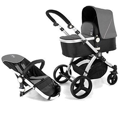 Froggy® MAGICA 2012 combi pushchair Anthrazit