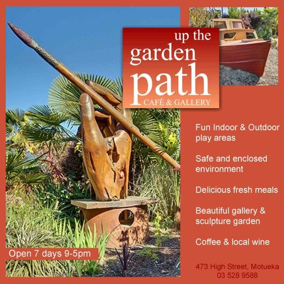 Up-the-garden-path