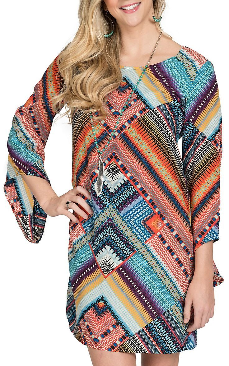 Love this dress from Cavender's