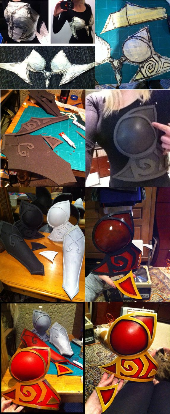 My tutorial on how to make a basic female breastplate using EVA foam and (optional) thermoplastic. For more of my work you can follow me on facebook.www.facebook.com/KinpatsuCospl… I a...