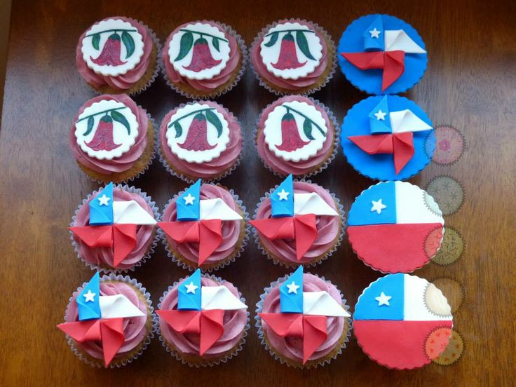Cupcakes patrios