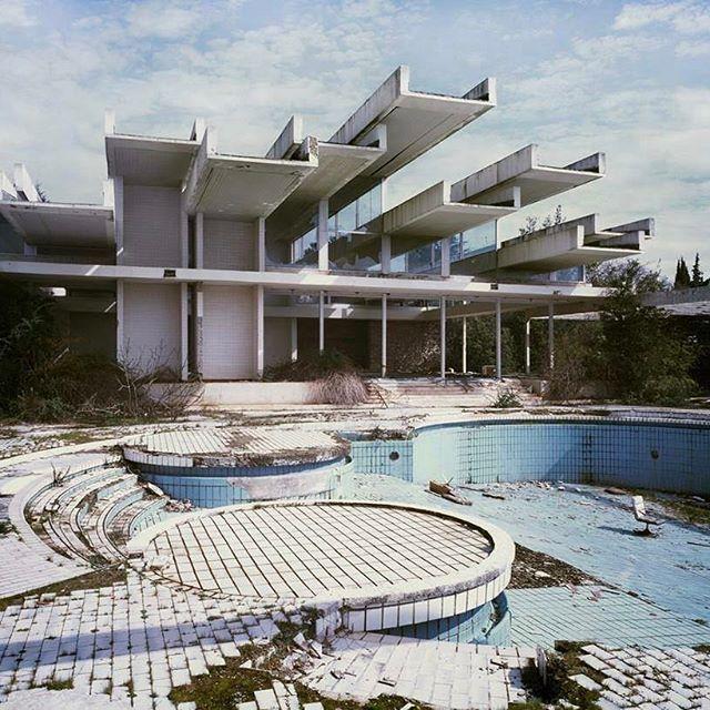 Haludovo Palace Hotel Croatia. Island Krk. #socheritage photo:(c) Bojan Mrdenovic