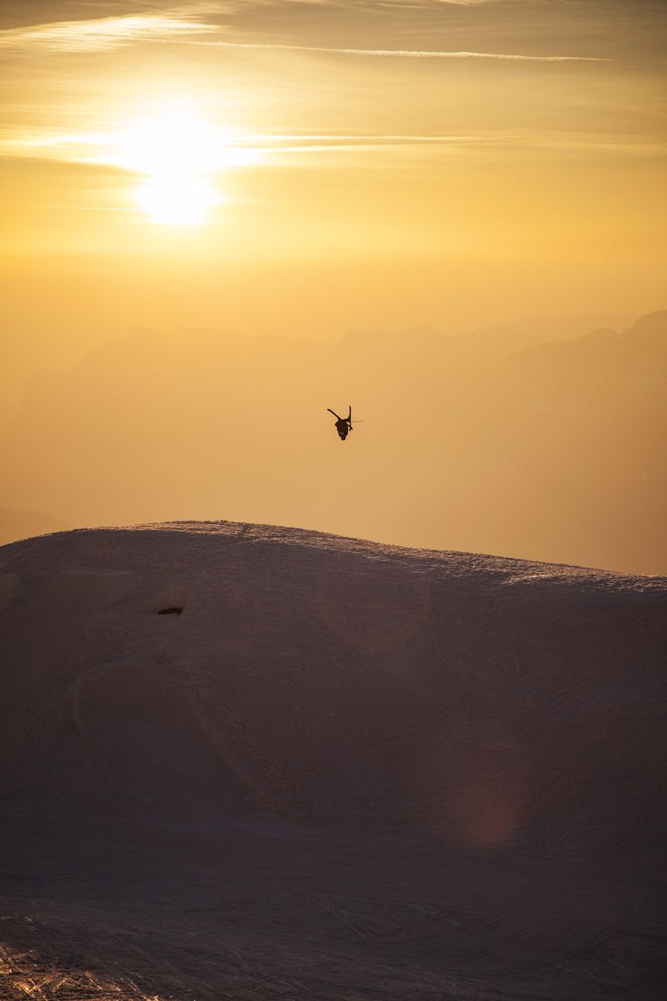 Candide Thovex enjoying the view… #quiksilver