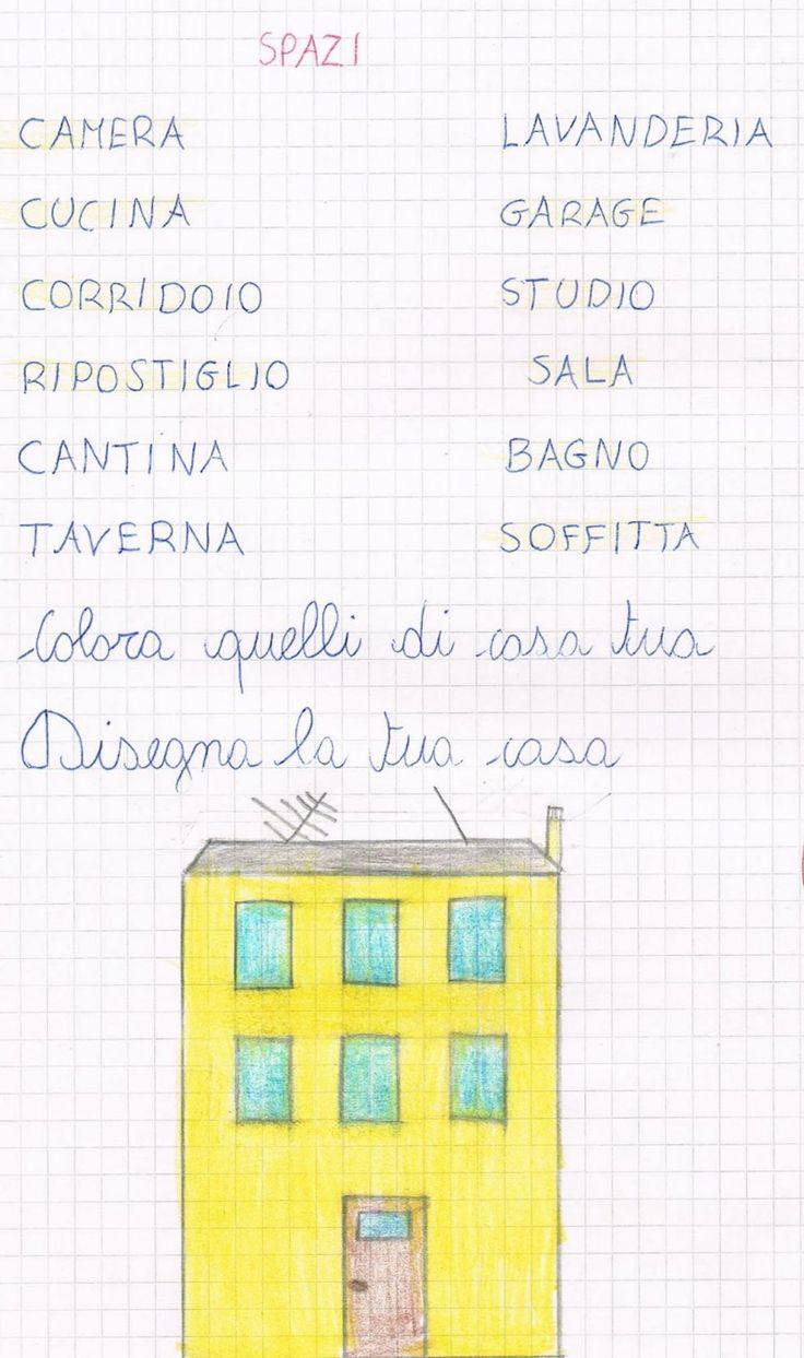 La mia città, la mia casa     Io abito a Imperia, città di mare.  La mia casa si trova in via Filippo Paoletti n° 86.  I muri ester...