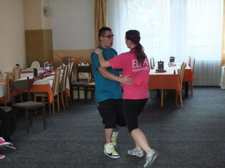 Nácvik tanečnej scénky