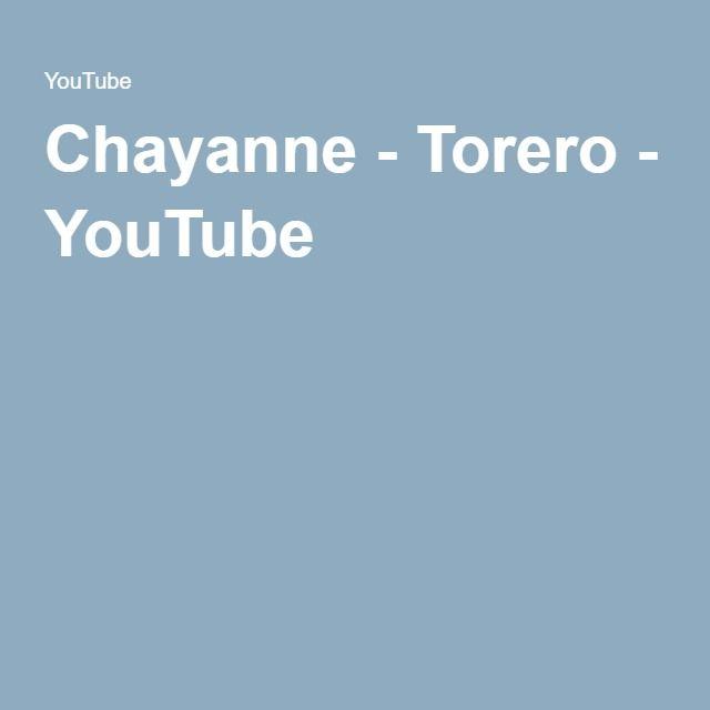 Chayanne - Torero - YouTube