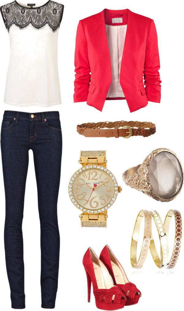 """""""Smart Casual"""" by purrrplelove on Polyvore"""