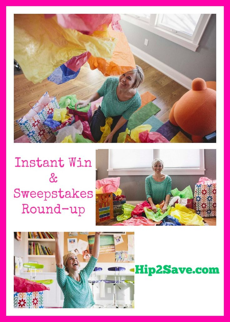 Instant Win & Sweepstakes Round-Up by Hip2Save (It's Not Your Grandma's Coupon Site!)