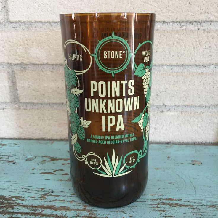 Bottle of the Week #9 Bottle: Stone Points Unknown IPA Size: 1 Pint 6oz Polishing Time: 3 minutes 40 seconds Comment: We always admire the Stone bottle artwork. Check out our weekly post here http://bit.ly/1n6Uye8