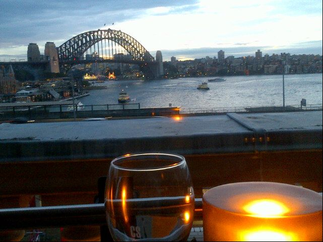 Café Sydney (Will let you know if we can get a booking)