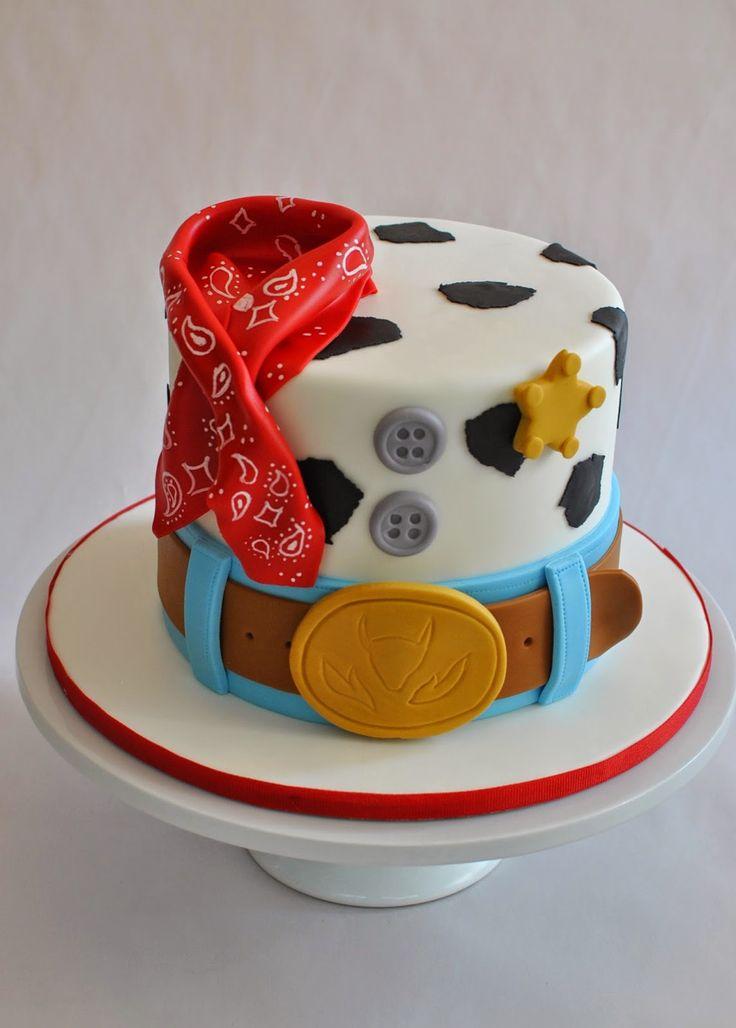 Woody Cake, Toy Story Cake, Cowboy Cake, Hope's Sweet Cakes, hopessweetcakes.com
