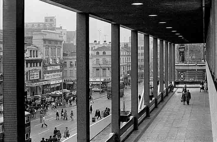 Clayton Square from St John's Precinct circa 1975
