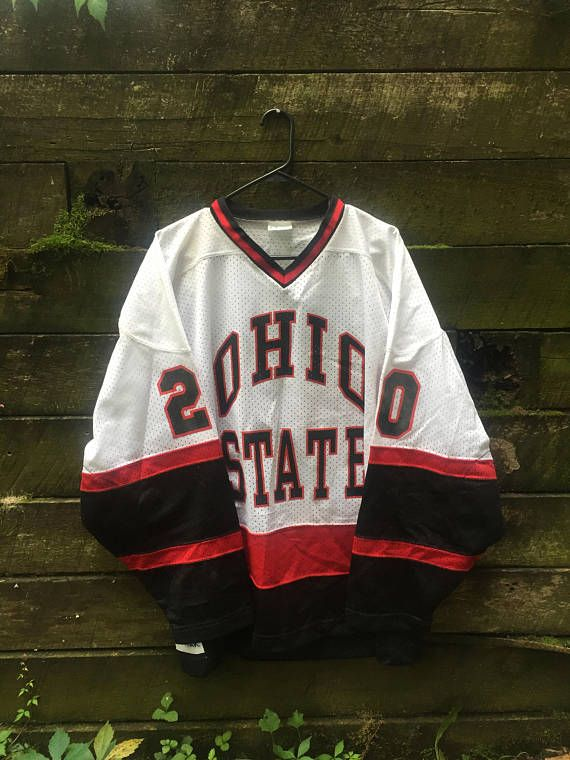 Hey, I found this really awesome Etsy listing at https://www.etsy.com/listing/556620265/vintage-90s-ohio-state-hockey-jersey