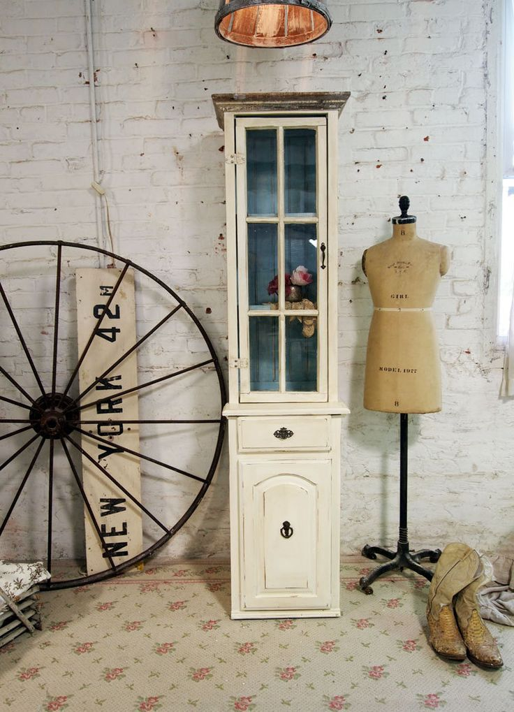 Painted Cottage Shabby White Handmade Farmhouse by paintedcottages, $495.00