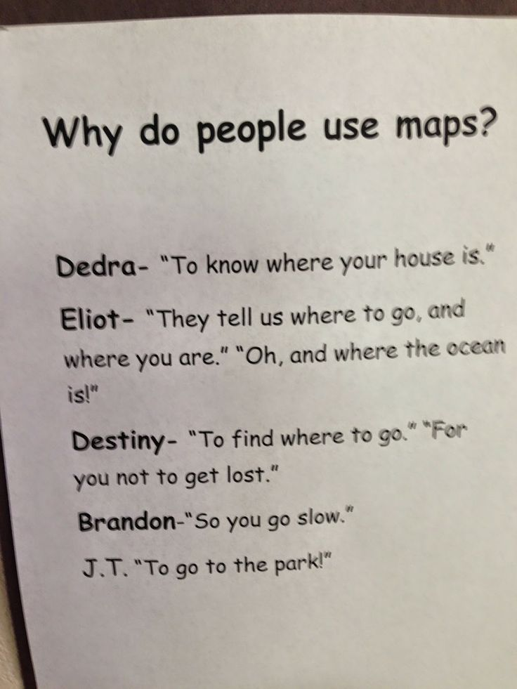 Children creating their own Maps and how this leads to profound learning experiences.