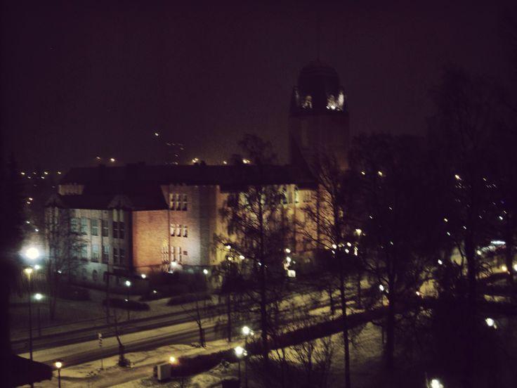 Talvi 2013 taisi tulla tänään myös Joensuuhun.