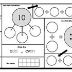 Numbers to 10 Graphic Organizer: Numeracy Mats for Number of the Day    Print on legal size paper and laminate for a reusable dry-erase math activity...