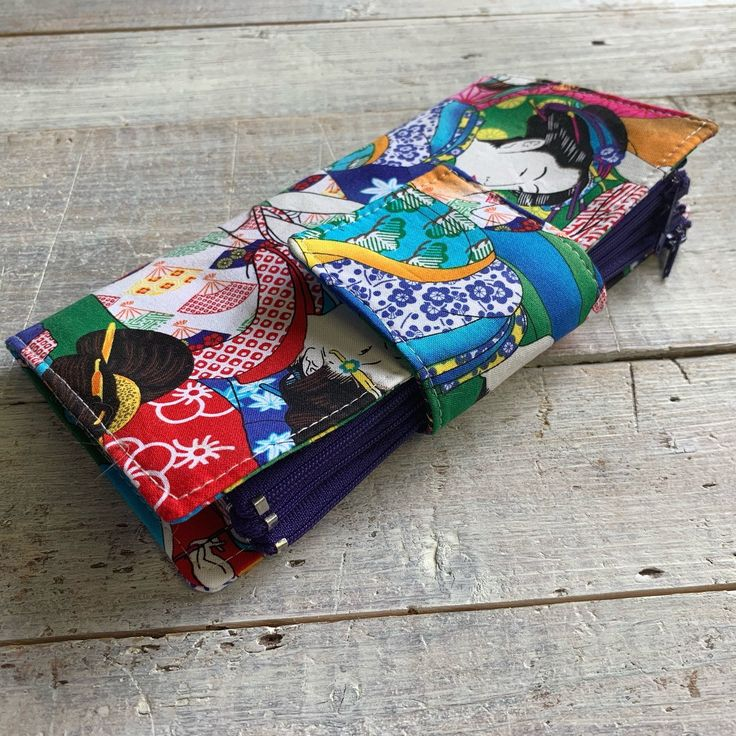 Money Envelope System – Zippered Pockets, Dave Ramsey Cash Envelope System – Money System – Geisha – Cash Wallet