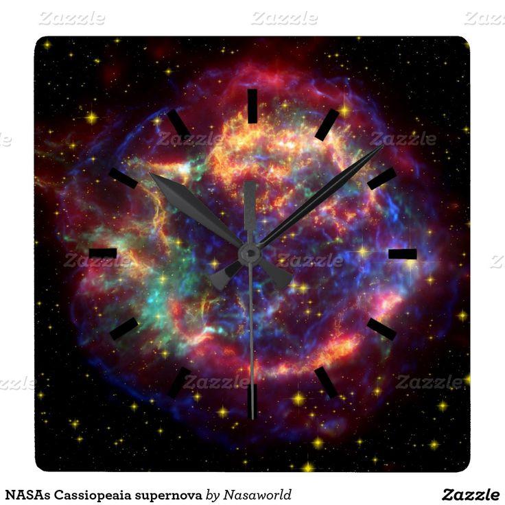 Cassiopeaia supernova,  Love the rainbow colours.