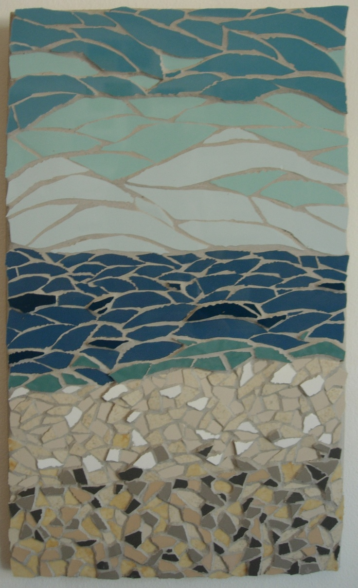75 best Beach inspired mosaic images on Pinterest ...