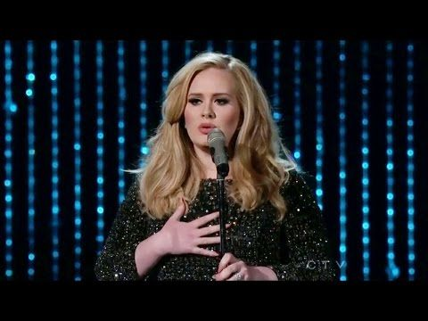 Adele - Skyfall (Live At Oscar Academy Awards 2013) / AdeleVEVO - YouTube