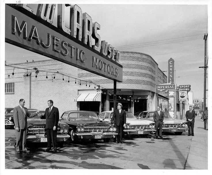 17 Best Images About Old Car Dealerships On Pinterest