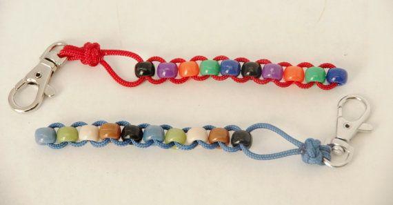 Fidget  Sensory Fidget  Cord and Beads by CreationsFromKristi
