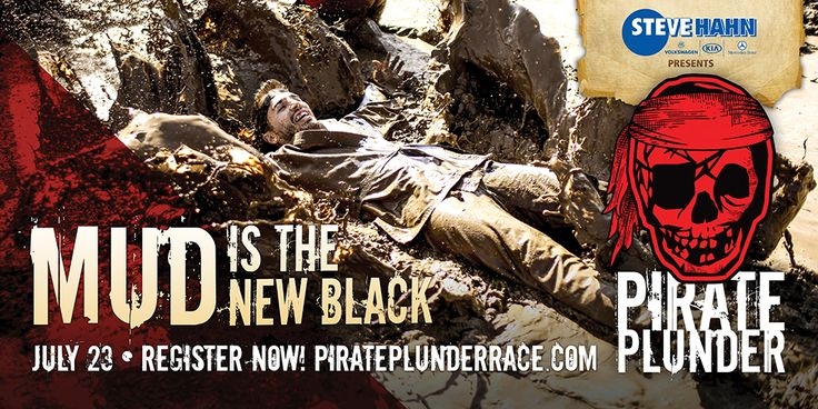 Time is running out to register for the Pirate Plunder Adventure in Yakima, July 23!  Go to www.pirateplunderrace.com today!